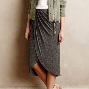 Anthropologie Dolan Tulip Midi Skirt